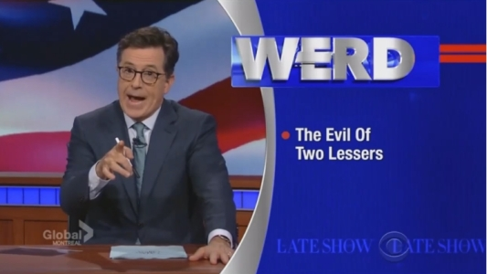 Colbert the werd