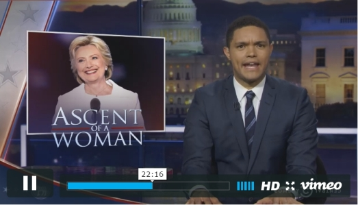 Trevor noah ascent of a woman